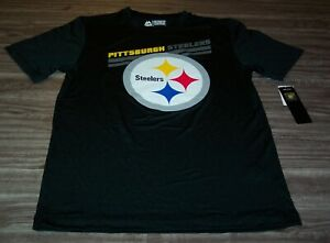 PITTSBURGH STEELERS NFL FOOTBALL PULLOVER Coolbase JERSEY T-SHIRT SMALL NEW