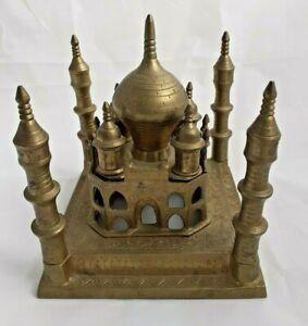 Brass Taj Mahal Model 17 cm Vintage