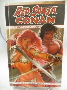 RED SONJA CONAN Blood of a God HC Hardcover $19.99 srp Alex Ross Dynamite NEW