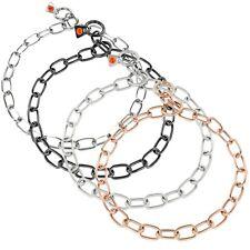 Sprenger Halskette Halsband Edelstahl / Matt / Schwarz / Curogan / Typ: medium