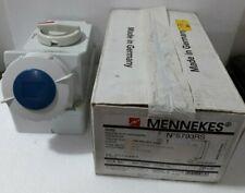 MENNEKES N5793RS 32A 6H 200-250V-50-60Hz 2P BLUE POWER SOCKET SWITCHED  5793RS