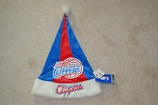 """Los Angeles Clippers Christmas Santa Hat 17"""" Color: Red/Blue New with Tag!"""