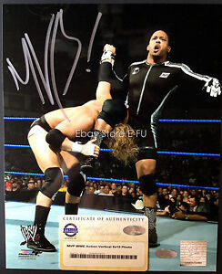 MVP MONTEL VONTAVIOUS PORTER Signed 8x10 WWE Photo Steiner Certified Autograph