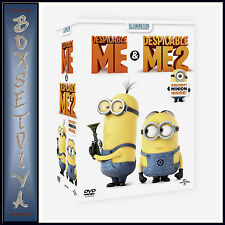 DESPICABLE ME & DESPICABLE ME 2 - LTD EDITION GIFT PACK **BRAND NEW DVD **