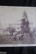 STA378 provincia de Oviedo Espagne Muros albumen STEREO Photo stereoview 1900