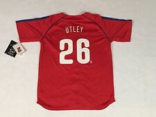 Kids CHASE UTLEY Philadelphia Phillies Red NIKE  Youth Jersey NWT - Large 16-18