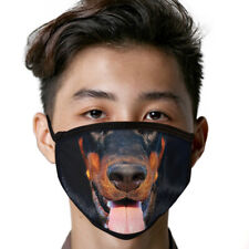 Doberman Pinscher Face Mask Dog Breed Face Covering Reusable Made In Usa