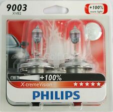 NEW Genuine Philips X-treme Vision 100% Brighter HB2 9003 H4 XVS2 Headlight Bulb