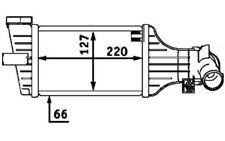 BOLK Radiador de aire admisión OPEL ASTRA ZAFIRA VAUXHALL BOL-C031646