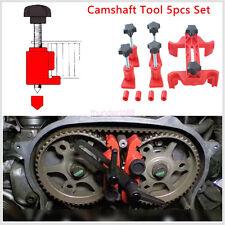 5 x Dual Cam Clamp Camshaft Engine Timing Locking Tool Sprocket Gear Locking Kit