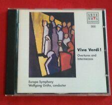Viva Verdi! - Overtures and Intermezzos (CD, Jul-1999, Arte Nova)*Free Shipping*