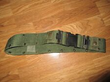 US MILITARY INDIVIDUAL EQUIPMENT NYLON BELT LC-2 SIZE MEDIUM