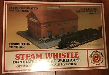 Bachmann Steam Whistle Decorated Freight Warehouse No. 46709 NIB!