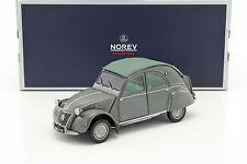 "1/18 - NOREV - CITROEN 2CV AZL ""Malle Bombee"" 1957 Grey"