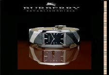 BURBERRY WOMEN'S CHECK SIGNATURE EDITION WATCH BU9405