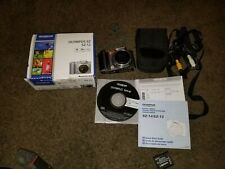 Olympus SZ-12, 14MP Digital Camera, WITH BOX, MANUALS, SOFTWARE DISC, ACCESORIES