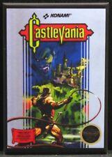 """Castlevania Game Box 2"""" X 3"""" Fridge / Locker Magnet. NES"""