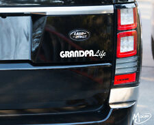 GRANDPA LIFE  Reflective Decal Funny For JDM Race Drift Stance Best Gift