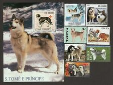 Alaskan Malamute * Int'l Dog Stamp Collection* Great Gift Idea*