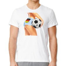 New - Men's Adidas Germany Fan Football Soccer T-Shirt, Top - White