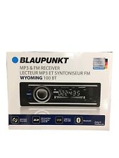 Blaupunkt WYOMING100BT Mechless Car Audio Receiver +Bluetooth +MP3/USB/AUX/SD/FM