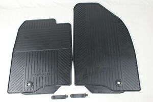 Original Car Mats Front Rubber Ford Fusion Year 4/2002 - 10/2004 1446599