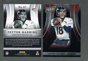 PEYTON MANNING #67 Broncos  2014 Panini National VIP Party Gold Packs 200 Made