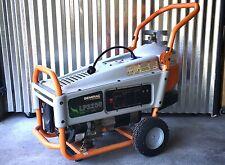 Generac LP3250 portable generator with 20lb propane tank