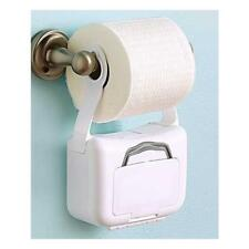 2 Pack Bathroom Flushable Wipes Hanging Dispenser Container 42 Wipes Per Box