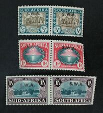 Ckstamps: Gb South West Africa Stamps Collection Scott#B9-B11 Mint H Og