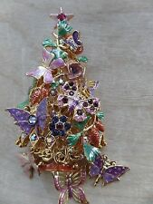 Kirks Folly ButterflyTree (Christmas?) With Sparkle And Crystals Beautiful