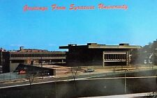 Vintage 1976 Postcard Syracuse University Syracuse New York