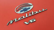 USED 2001 Chevrolet Malibu LS V6 Rear Chrome OEM Emblem Decal (97 98 99 00 01)
