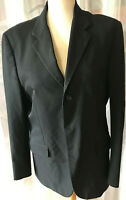 PRADA Jacke Sakko Herren Blazer Jacket Gr 50 schwarz - glänzend - made in italy