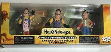 New HELLO NEIGHBOR 3 PC Figurine Set by ZAG Toys