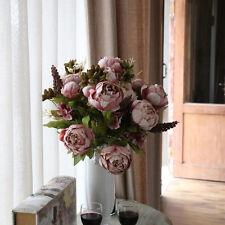 Artificial Fake Peony Silk Flower Bridal Hydrangea Home Wedding Garden Decor Hot