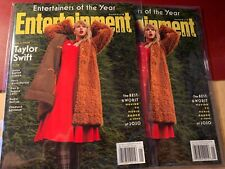JAN 2021-ENTERTAINMENT WEEKLY-TAYLOR SWIFT-COVER 1 OF 6-ENTERTAINER OF THE YEAR
