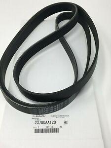 Genuine Subaru Serpentine Belt 23780AA120 2012-2014 Impreza Crosstrek 2.0B OEM