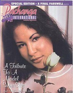 Collectable Selena Quintanilla Pachanga International Magazine April 1995