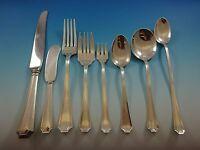 Fairfax by Durgin-Gorham Sterling Silver Flatware Service For 6 Set 53 Pieces