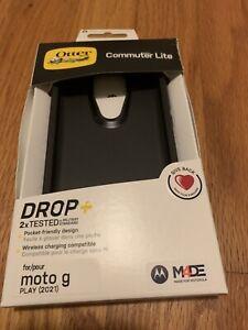 Otterbox Commuter Lite Series Case for Moto G Play (2021) - Black