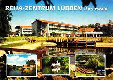 Reha-Zentrum Lübben ; Ansichtskarte 2002 gel.