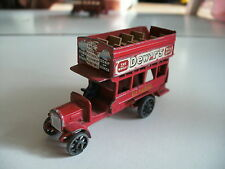 Matchbox Yesteryear B-type Bus 1912-1920 in Red
