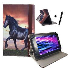 10.1 zoll Motiv Tablet Tasche Hülle - Asus Transformer Pad TF101 - Pferd 10