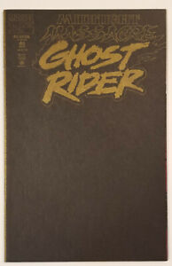 Ghost Rider #40 (Mint or higher! Black Parchment Cover! APP Demogoblin!)