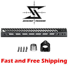 Seekins Precision 15-Inch SP3R V3 M-LOK Rail - Competition Free Float Handguard