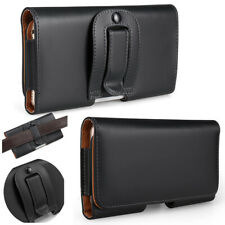 Leather Belt Clip Wallet Hip Book Case Pouch Holder Cover iPhone 5 6 SE2020 X/XR
