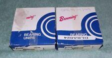 """2 New Browning VTWS-216 Ball Bearing Take-Up Units 1"""" Bore"""