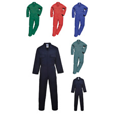 Portwest S999sprxxl Euro Work Polycotton Coverall Regular Size 2x-large Spruce