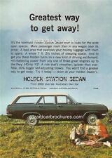 1965 HD HOLDEN WAGON A3 POSTER AD SALES BROCHURE ADVERTISEMENT ADVERT